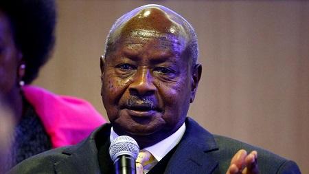 Le président Yoweri Museveni, au pouvoir depuis 1986
