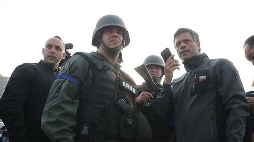 L'Espagne confirme que Leopoldo López et sa famille sont à l'ambassade de Caracas - EFE