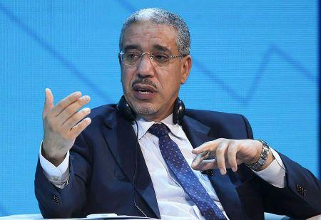 Aziz Rabbah, Ministre marocain de l'énergie et du développement durable, . Photo: AFP
