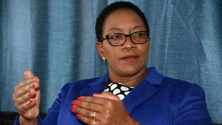 Sicily Kariuki, ministre kényane de la Santé