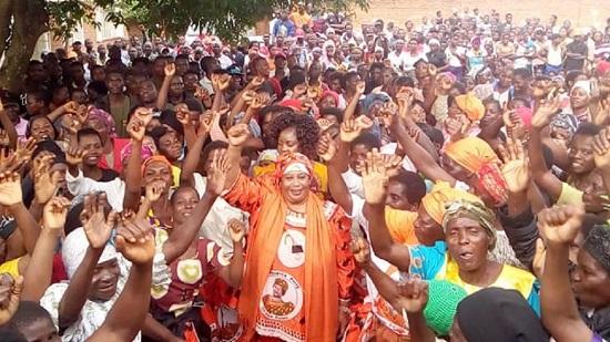 l'ancienne présidente Joyce Banda