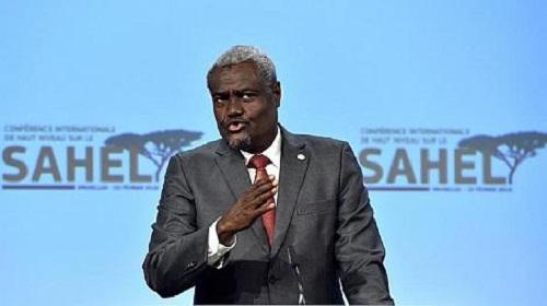 Le président de la Commission de l'Union africaine (UA), Moussa Faki Mahamat