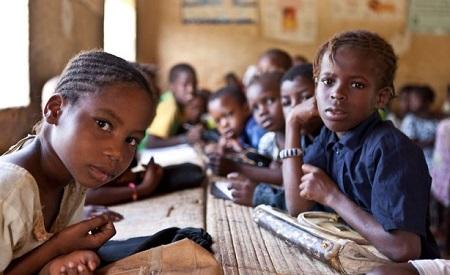 Des enfants dans une école à Tombouctou, au Mali. .    Photo: Photo UNICEF