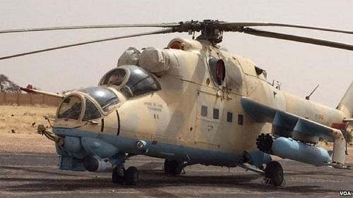 un hélicoptère de l'armée tchadienne parti mercredi de la capitale, N'Djamena, vers Faya-Largeau, dans le nord du pays, mais qui n'est pas arrivé à destination