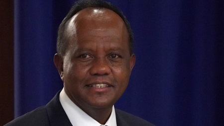 Le président du Sénat, Rivo Rakotovao, accuse la TVM et la RNM de censure sur ordre du ministère de la Culture et de la Communication. © Don EMMERT / AFP