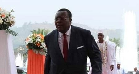 Me Jean De Dieu Momo, ministre délégué auprès du ministre de la justice garde des sceaux