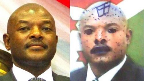 Trois écolières ont été arrêtées la semaine dernière pour des gribouillages sur une photo du président Pierre Nkurunziza