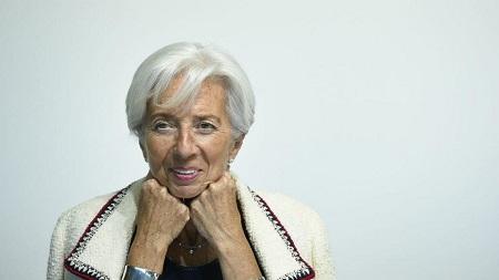 Christine Lagarde présente sa démission du FMI avant de prendre les rênes de la BCE. John Thys, AFP
