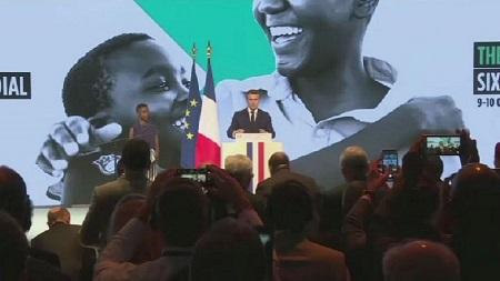 Emmanuel Macron a exhorté les pays du G7, les pays du Golfe et le secteur privé à contribuer au Fonds mondial qui contribuera à améliorer la santé maternelle