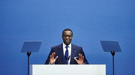 Le directeur général de Credit Suisse, Tidjane Thiam, a déposer sa démission. (Michael Buholzer/AFP)
