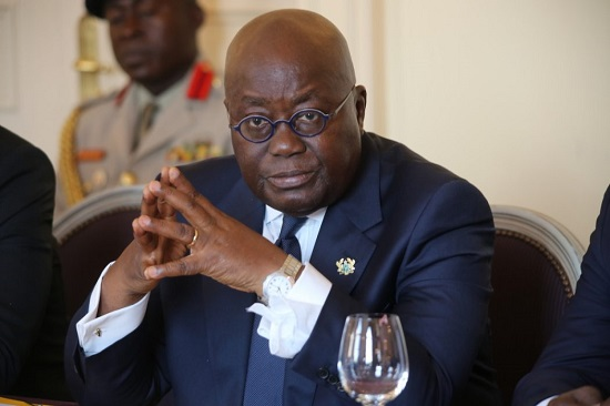 Le Président ghanéen Nana Addo Dankwa Akufo-Addo