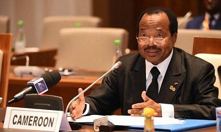 Le président camerounais Paul Biya (notre photo d'illustration) fait un don de près de deux milliards de francs CFA en équipements sanitaires.