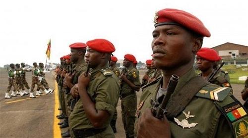 Des soldats camerounais