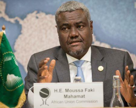 Moussa Faki, le président de la Commission de l'UA