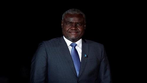 Le président de la Commission de l'UA, Moussa Faki