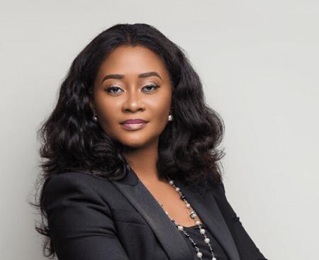 Angela Kyerematen-Jimoh, directrice régionale d'IBM pour l'Afrique du Nord, de l'Est et de l'Ouest