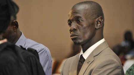 Amadou Sanogo lors d'une précédente audience, le 30 novembre 2016. AFP