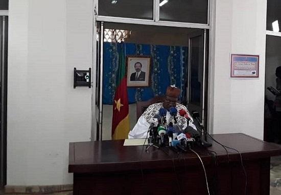 Le ministre de la Communication Issa Bakary Tchiroma