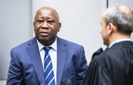 Laurent Gbagbo devant la Cour pénale internationale de La Haye
