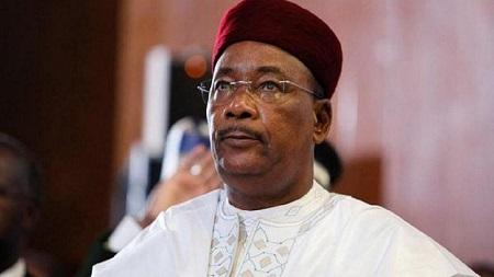 Le président du Niger, Mahamadou Issoufou