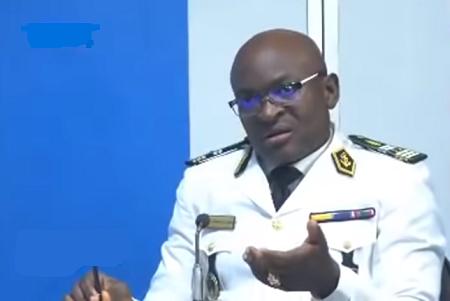 Cyrille Serge Atonfack Guemo, Capitaine de Frégate,  Chef de la Division de la Communication au ministère de la Défense