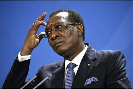 Le président tchadien, Idriss Déby