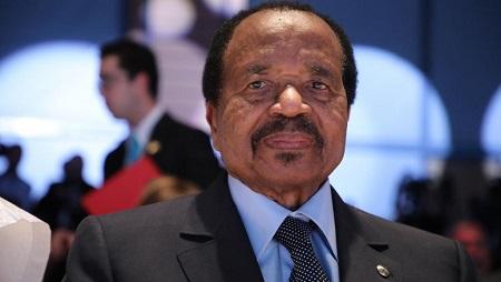 Le président du Cameroun Paul Biya, ici le 10 octobre 2019. © Ludovic MARIN / AFP
