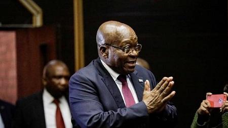 Le début du procès de l'ancien président sud-africain Jacob Zuma