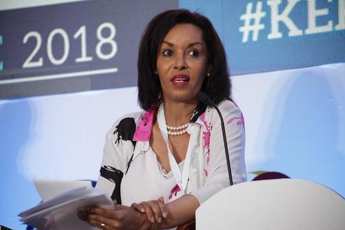 Brenda Mbathi,  nouvelle CEO dee GE en Afrique de l'Est