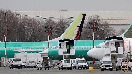 Boeing chutait lourdement lundi peu après l'ouverture de la séance à Wall Street, au lendemain de l'accident en Ethiopie