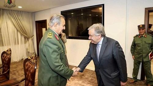 Le Conseil de sécurité des Nations unies, déterminé à organiser la conférence nationale libyenne dans le respect de son agenda