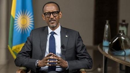 Le président rwandais, Paul Kagamé