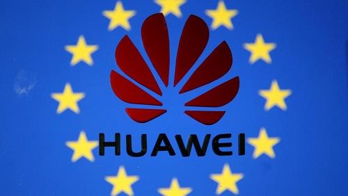 Les activités du géant des télécoms Huawei suscitent l'inquiétude européenne. REUTERS/Dado Ruvic/Illustration