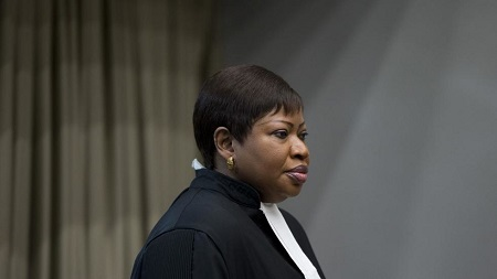 Fatou Bensouda, procureure de la CPI, le 6 décembre 2016. Peter Dejong / ANP / AFP