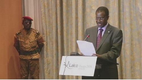 Kadré Désiré Ouédraogo, proche de l'ancien président Blaise Compaoré et ancien Premier ministre du Burkina