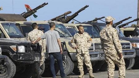 Ces deux derniers jours, des forces du GNA ont publié des photos de missiles antichar américains Javelin retrouvés à Gharyan