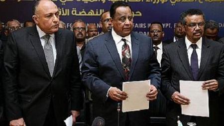 """Washington a réaffirmé mardi sa """"neutralité"""" dans leurs efforts de médiation entre Addis Abeba et Le Caire au sujet de l'immense barrage éthiopien sur le Nil"""