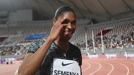 La Sud-Africaine Caster Semenya a survolé vendredi le 800 m dames du meeting de Doha