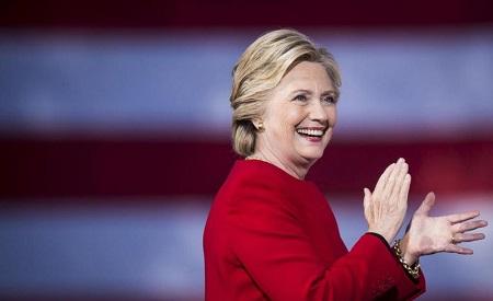 Hillary Clinton, l'ancienne secrétaire d'État américaine