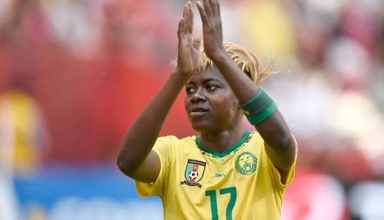 L'attaquante camerounaise Gaelle Enganamouit