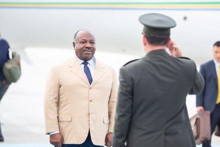 Le président Ali Bongo