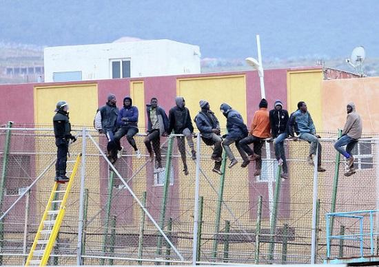 Les migrants africains tentent de rejoindre l'Europe à tout prix© AFP 2018 Angela Rios