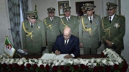 L'armée gère le dossier de la maladie du Président pour des raisons de sûreté de l'Etat. D. R.