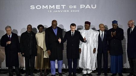 Les dirigeants G5 Sahel se sont retrouvés lundi à Pau, dans le sud-ouest de la France