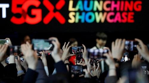 La marque sud-coréenne a lancé vendredi dernier le tout premier smartphone au monde fonctionnant avec la technologie 5G