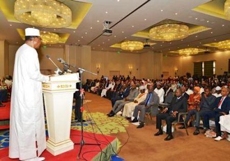 Son Excellence M. Idriss Déby Itno, Président de la République du Tchad