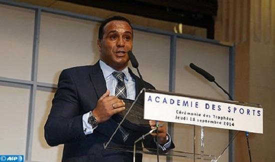 Ghani Yalouz, directeur général, de l'Institut National du Sport, de l'Expertise et de la Performance (INSEP) en France