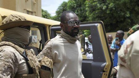 Le président malien par intérim, Assimi Goïta