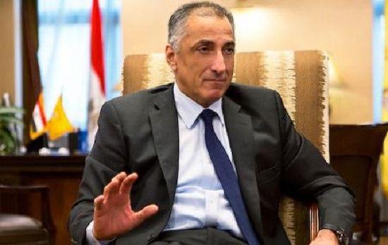 le gouverneur de la Banque centrale égyptienne, Tarek Amer