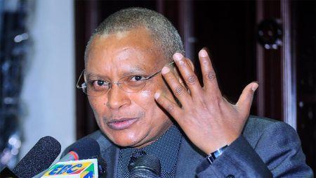 Debretsion Gebremichael, le chef du Front de libération du peuple du Tigré (TPLF),